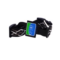 Bison Pet Black Thorn Adjustable Nylon Dog Collar