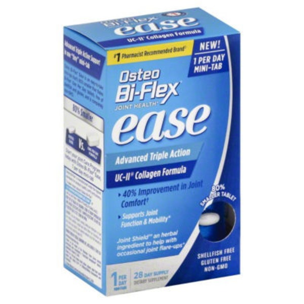 Osteo Bi-Flex Joint Health Ease Advanced Triple Action Mini-Tabs - 28 CT
