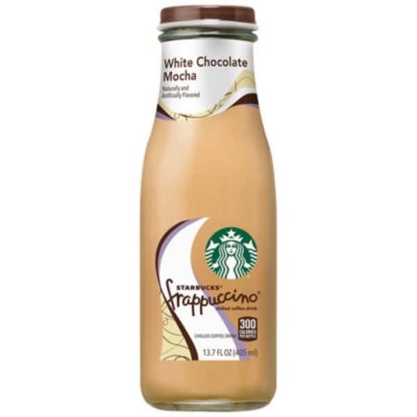 Starbucks Frappuccino White Chocolate Mocha Chilled Coffee Drink