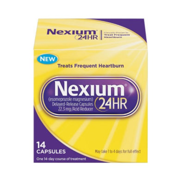 Nexium 24 Hr Delayed-Release Capsules Acid Reducer