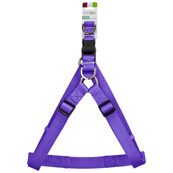 Good2 Go Large-Extra Large Purple Dog Harness