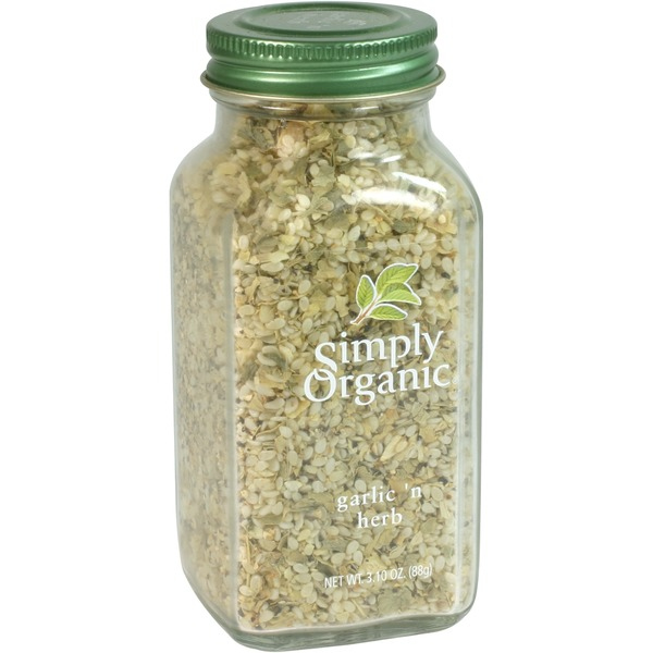 Simply Organic Certified Organic Garlic N Herb