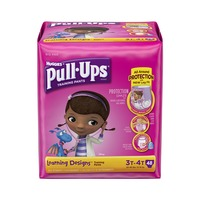 Huggies Pull-Ups Learning Designs 3T-4T Girls Training Pants