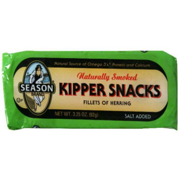 Season Kipper Snacks, Naturally Smoked