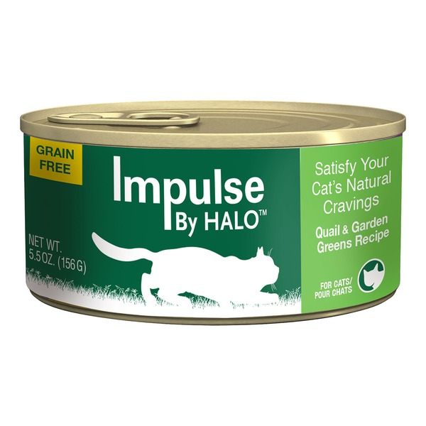 Halo Halo Impulse Quail & Greens Canned Cat Food