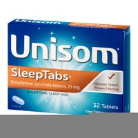 Unisom Sleep Tabs Nighttime Sleep-Aid Tablets - 32 CT