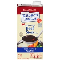 Kitchen Basics Unsalted Beef Cooking Stock