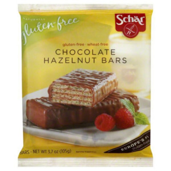 Schar. Chocolate Hazelnut Bars - 3 CT