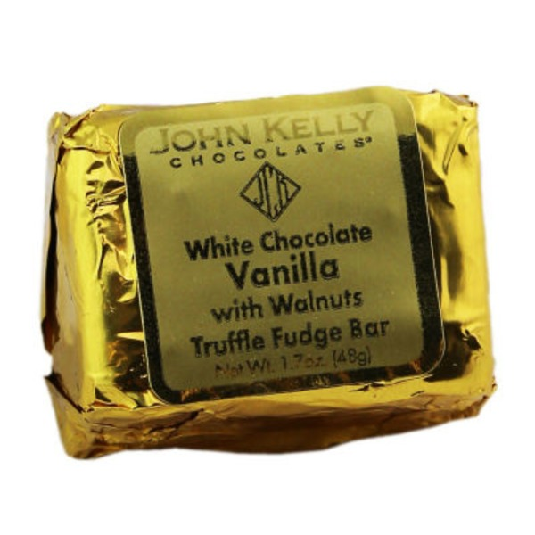 John Kelly Chocolates Truffle Fudge Vanilla With Walnuts
