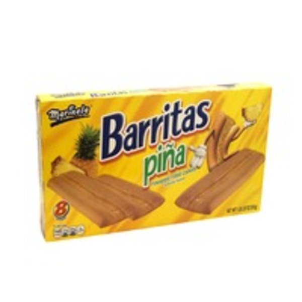 Marinela Barritas Pineapple Filled Cookies