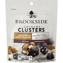 Brookside Almonds & Berry Flavor Crunchy Clusters in Dark Chocolate