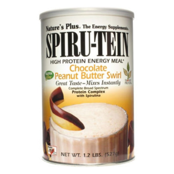 Nature's Plus Chocolate Peanut Butter Spirutein Energy Meal