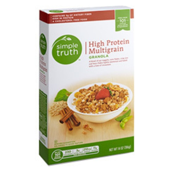 Simple Truth Organic High Protein Multigrain Granola Cereal