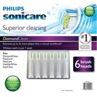 Philips Sonicare Diamond Clean Replacement Brush Heads