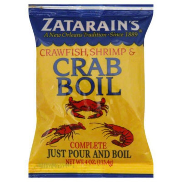 Zatarain's Crawfish, Shrimp Crab Boil