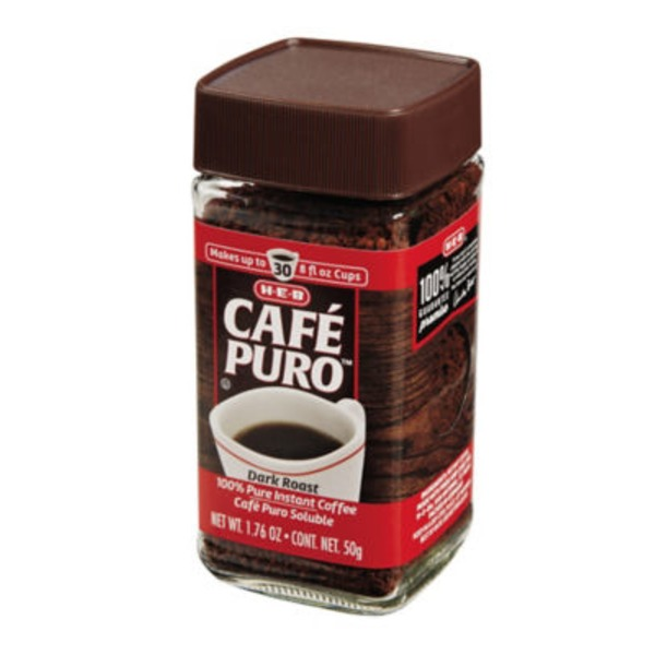 H-E-B Cafe Puro Instant Coffee