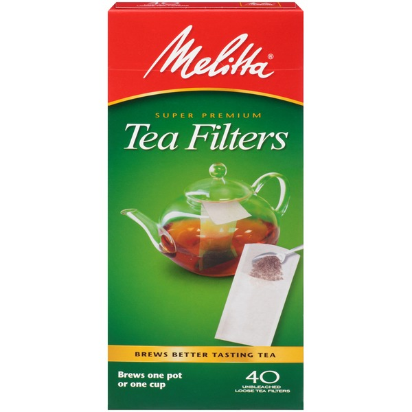 Melitta Super Premium Tea Filters