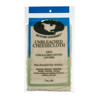 Beyond Gourmet Unbleached Cheesecloth