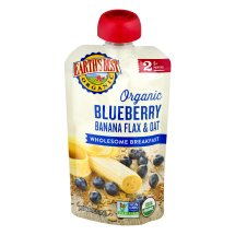Earth's Best Organic Blueberry Banana Flax & Oat 6+ Months, 4.0 OZ