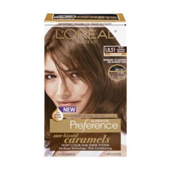 Superior Preference Cooler UL51 Hi-Lift Natural Brown Hair Color