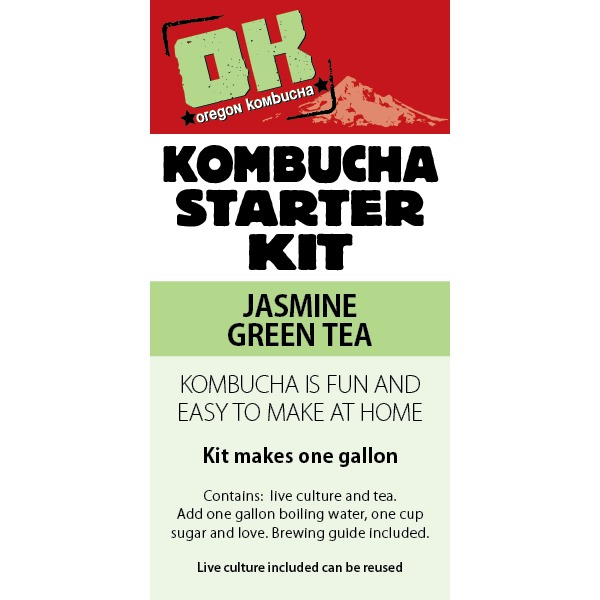 Oregon Kombucha Basic Jasmine Tea Kit