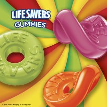 Wrigley Life Savers 5 Flavor Gummies, 7 oz