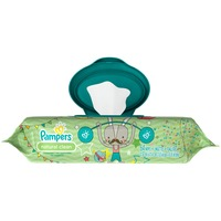 Pampers Natural Aloe Pampers Baby Wipes Natural Clean 1X 64 count Baby Wipes