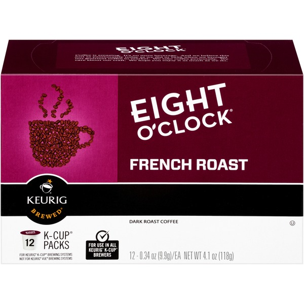 Eight O'Clock Coffee French Roast K-Cup Packs Coffee