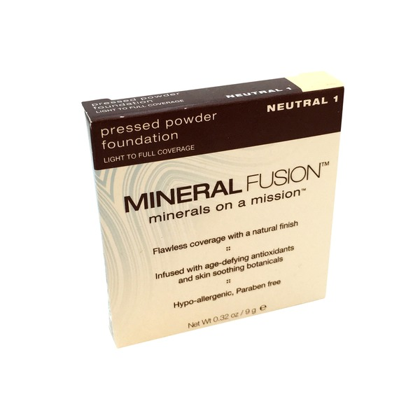 Mineral Fusion Pressed Powder Foundation - Neutral