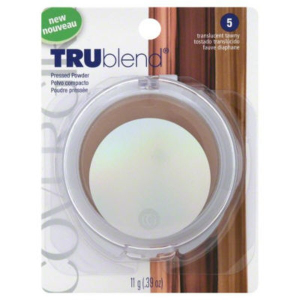 CoverGirl TruBlend COVERGIRL truBlend Pressed Blendable Powder, Translucent Tawny .39 oz (11 g) Female Cosmetics