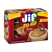 Jif To Go Creamy Peanut Butter - 8 CT