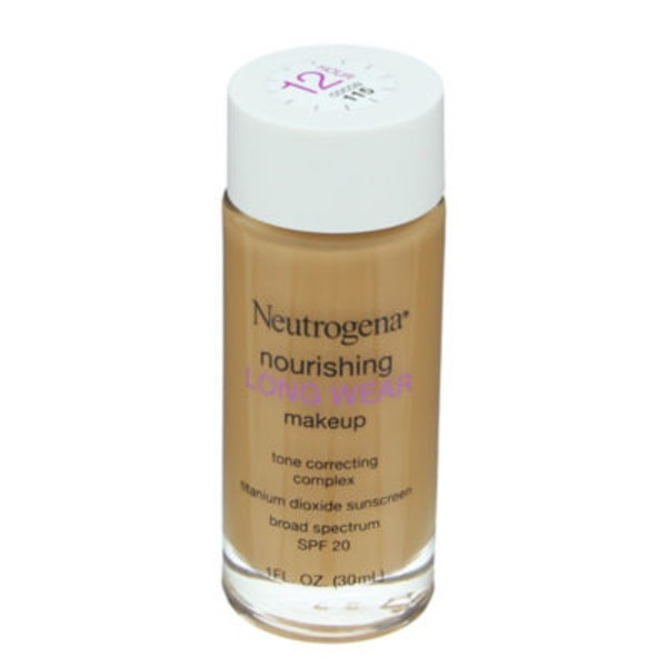 Neutrogena Makeup, Nourishing, Cocoa 115, Broad Spectrum SPF 20