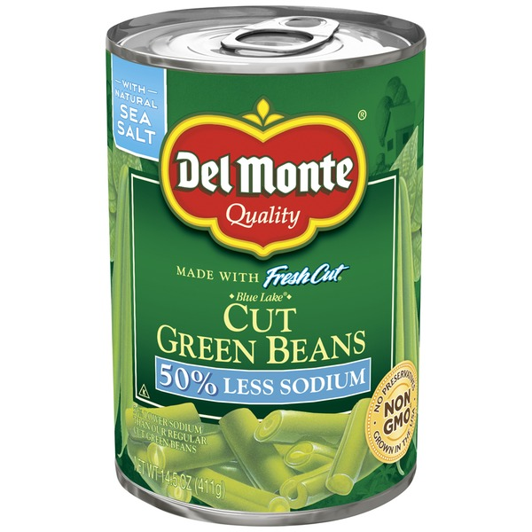 Del Monte Fresh Cut Blue Lake Low Sodium Cut Green Beans
