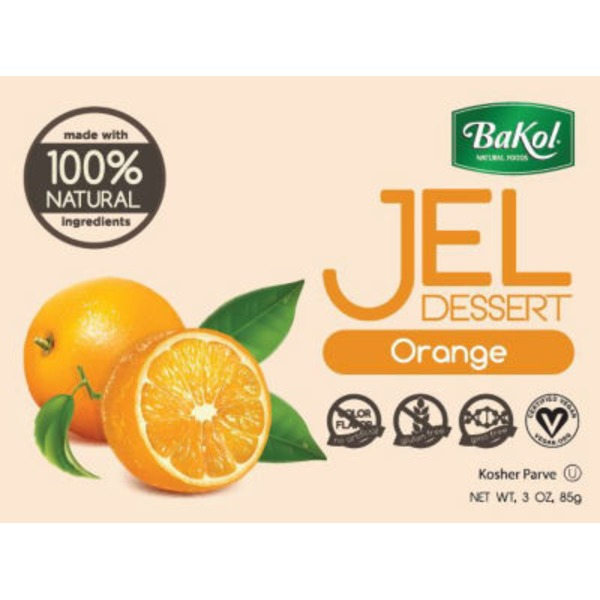 Bakol Natural Orange Jel Dessert