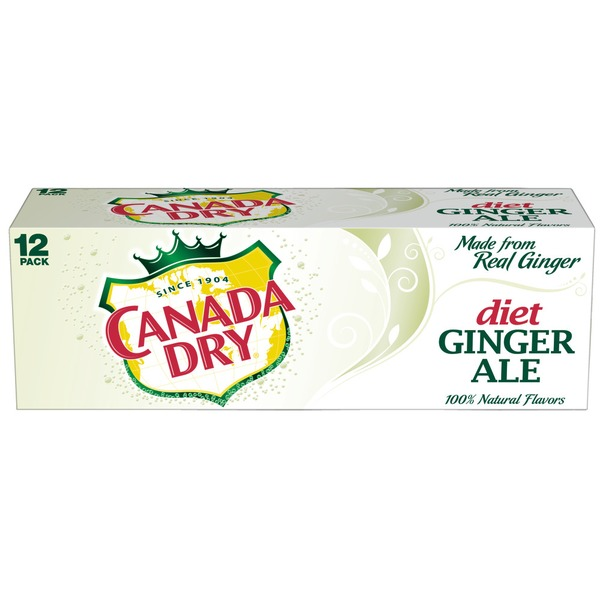 Canada Dry Diet 12 Oz Ginger Ale