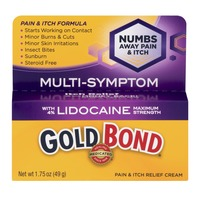 Gold Bond Pain & Itch Relief Cream Multi-Symptom