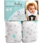 Ideal Baby Swaddles Ideal Baby Car Strap Cover, 2 ct