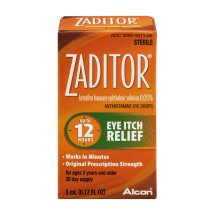 Zaditor Antihistamine Eye Drops, 0.17 fl oz
