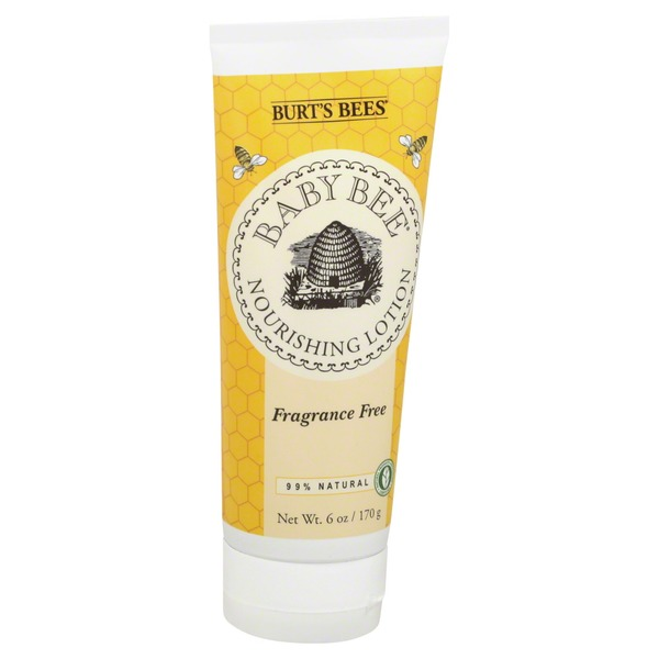 Burt's Bees Fragrance Free Nourishing Lotion