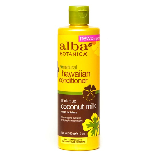 Alba Botanica Hawaiian Conditioner Drink It Up Coconut Milk