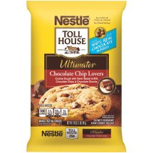 Nestlé TOLL HOUSE Ultimates Chocolate Chip Lovers Cookie Dough 16 oz. Bar