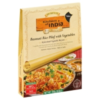 Kitchens Of India Basmati Rice Pilaf W Vegetables