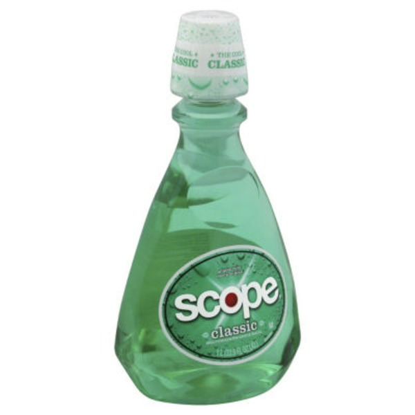 Scope Classic Original Mint Mouthwash 1 L  Oral Care