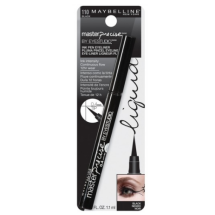 Maybelline New York Eye Studio Master Precise Liquid Eyeliner, Black, 0.037 Fl Oz