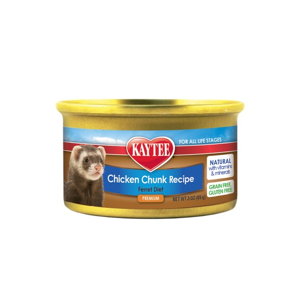 Kaytee Chicken Chunk Recipe Ferret Diet Premium Food
