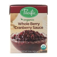 Pacific Organic Whole Berry Cranberry Sauce