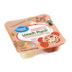 Great Value Lunch Pack, Uncured Pepperoni Pizza, Pizza Crusts, Pizza Sauce, 4.19 oz