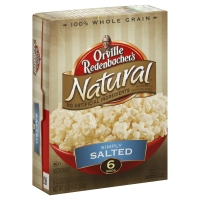 Orville Redenbachers Natural Popping Corn Gourmet Simply Salted - 6