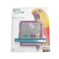 You & Me Bird Toy With Beads