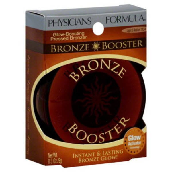 Bronze Booster Light to Medium 1134 Glow-Boosting Pressed Bronzer